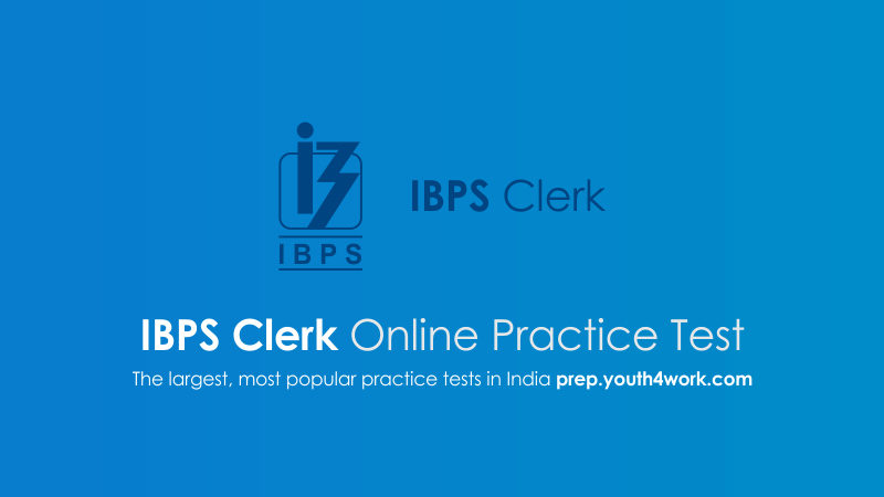 ibps clerk prelims exam