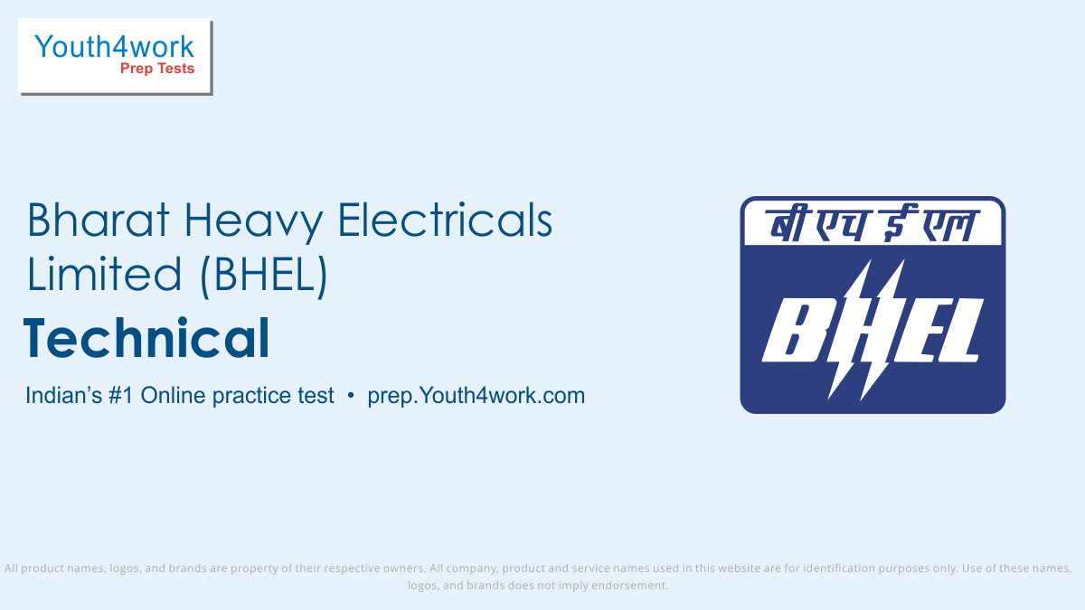 BHEL Engineering Mock Test for Technical subject