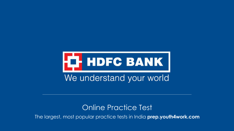 HDFC Bank Sample Papers, Bank Placement Papers, HDFC Bank Question Topics, Recruitment papers of HDFC Bank Exam, HDFC Bank Interview Questions Answers, hdfc bank interview questions papers