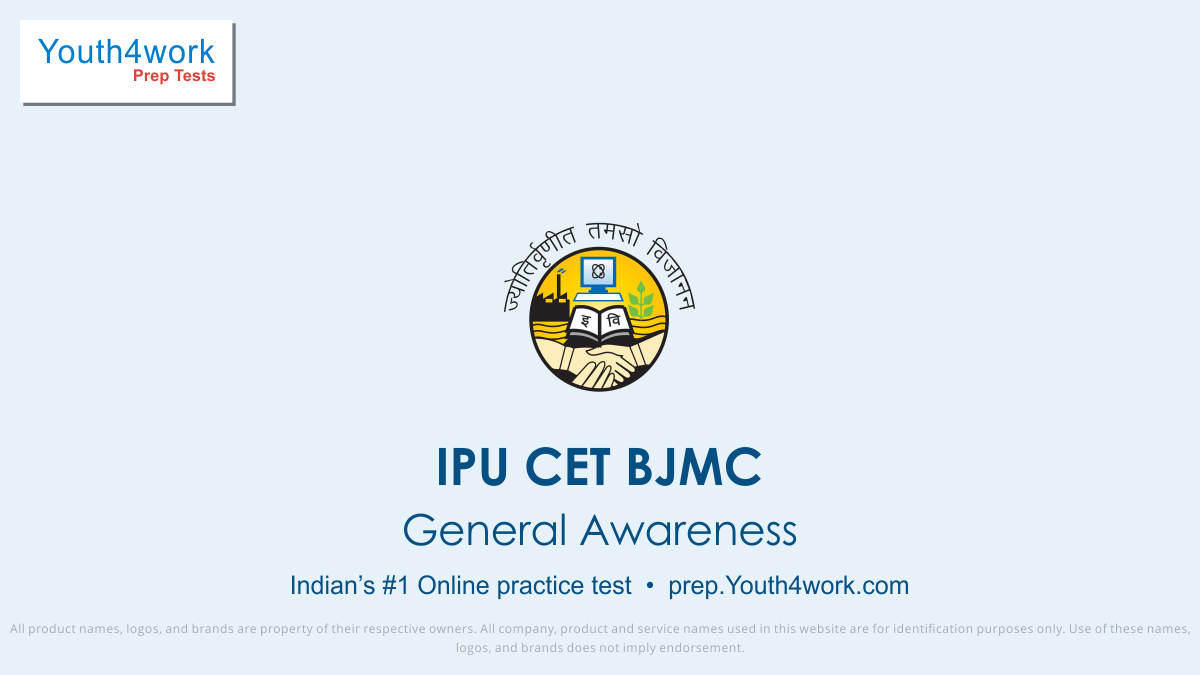 ipu cet bjmc free mock test series, ipu cet bjmc online test series, ipu cet  bjmc practice set, ipu cet bjmc preparation test, online entrance exam test for ipu cet bjmc, ipu cet bjmc mcqs question, indraprastha university common entrance test for bachelor in journalism and mass communication