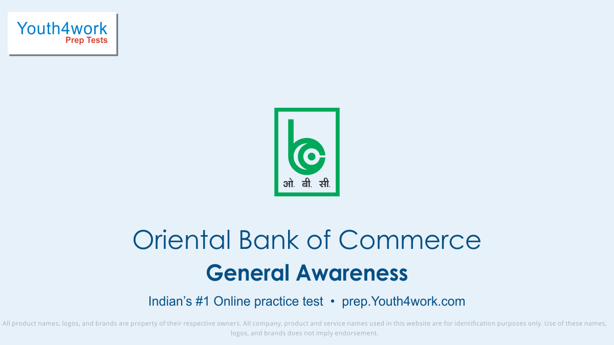 OBC, OBC bank mock test series, oriental bank of commerce Bank jobs, oriental bank of commerce  bank preparation, obc bank vacancy, obc bank recruitment, obc bank online test, OBC bank free test, OBC bank Question paper, OBC bank model test paper, OBC bank free preparation, prepare for bank