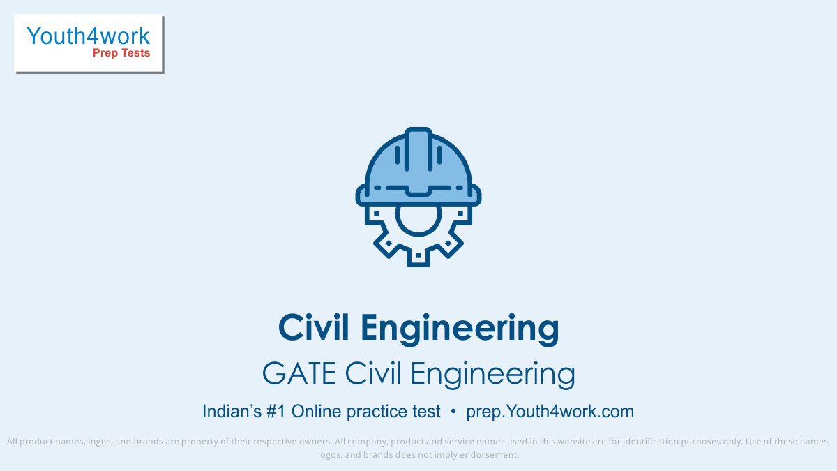 GATE Civil Engineering important questions, GATE Civil Engineering practice papers, GATE Civil Engineering model test papers, free GATE Civil Engineering mock test, GATE Civil Engineering online test series, GATE Civil Engineering notes