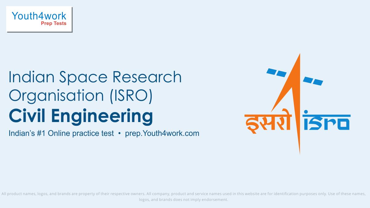 ISRO Recruitment Exam | Civil Engineering Test Papers