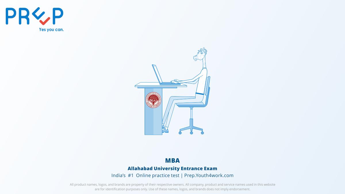 Allahabad University Entrance Exams for MBA, au mba, AU admission, au admission test practice, au mba entrance exam, au mba admit card, exam pattern, au mba mock test, au mba sample paper, au mba prep test, au mba exam detail