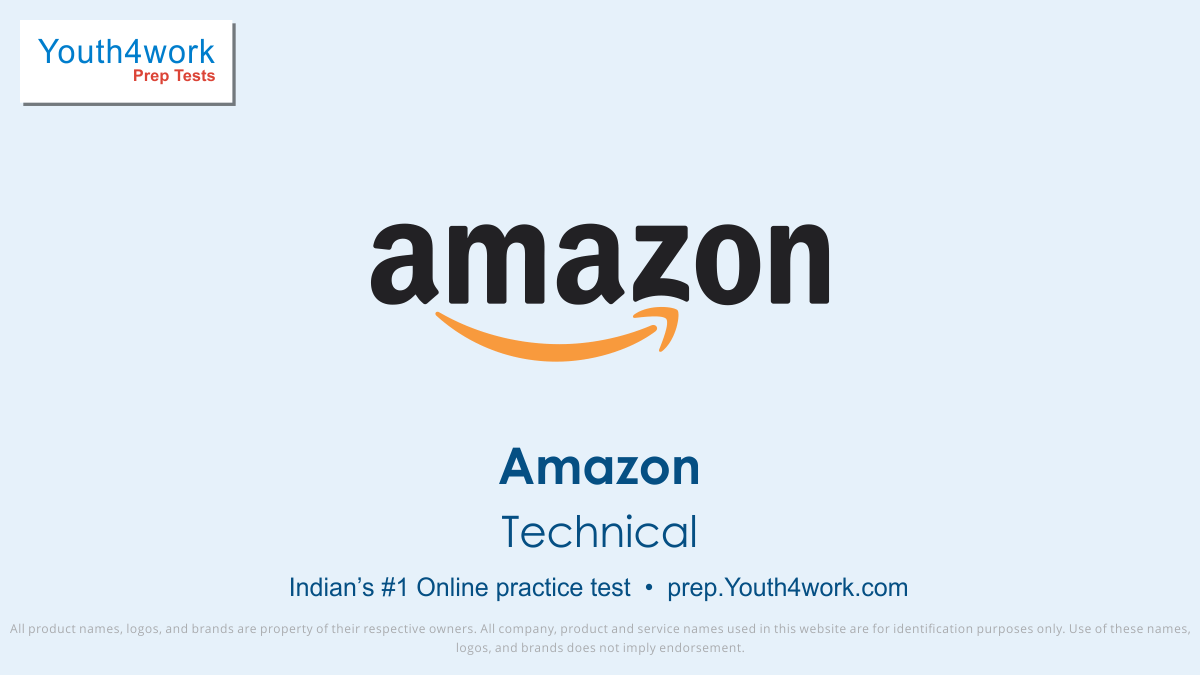 latest placement papers, Amazon, Amazon Mock Test, Amazon Free Online Test, Amazon Practice Test, Amazon Question Bank, Important Questions, Sample Papers