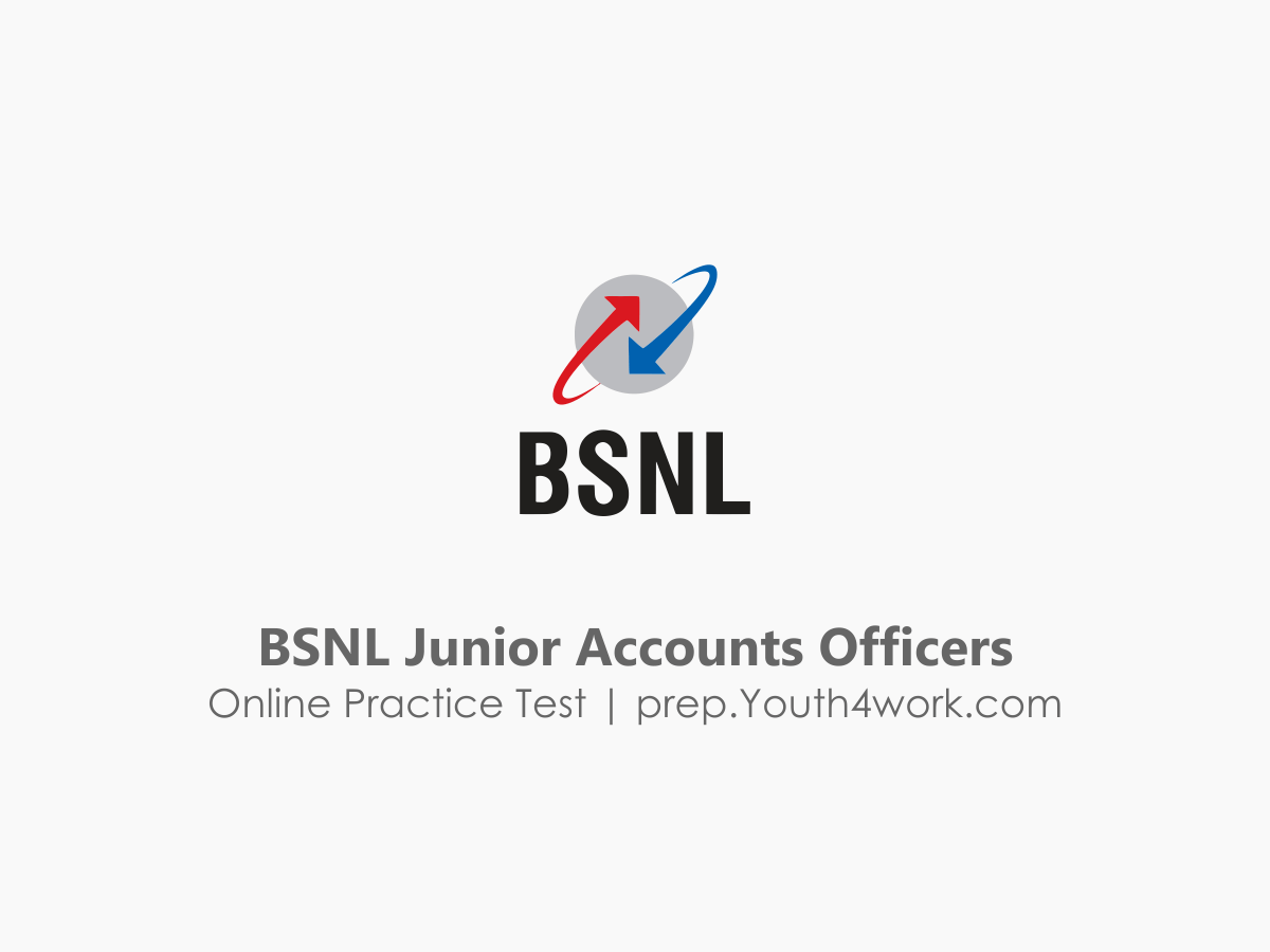 BSNL Junior Accounts Officers