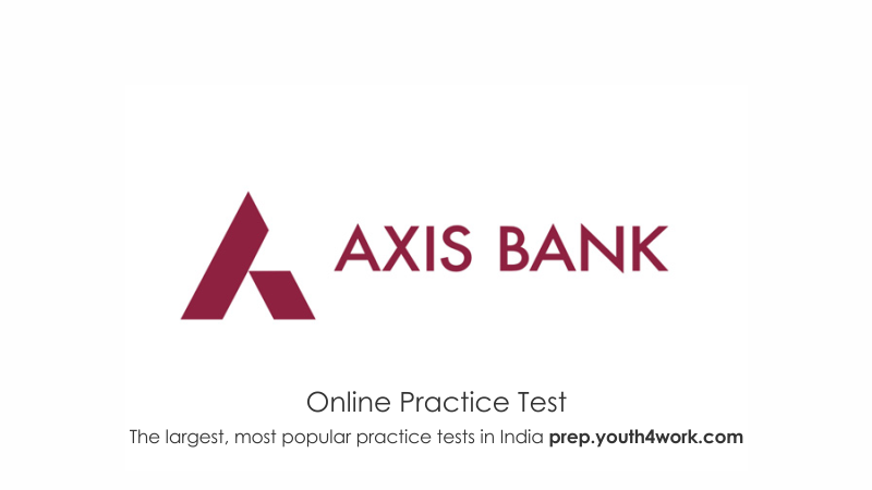 Axis Bank Online Sample Papers