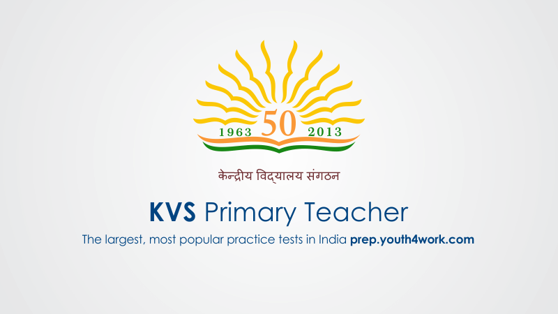 KVS Primary Teacher