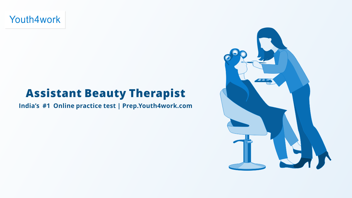 Assistant Beauty Therapist Online Skill Certification Practice Papers