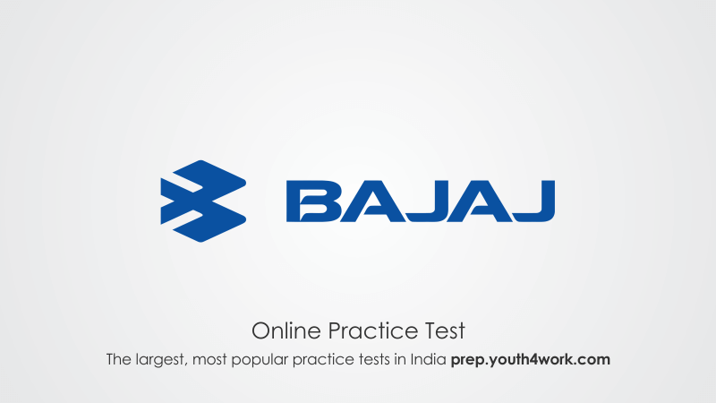 Bajaj Auto Recruitment Test, Interview Questions, Placement Papers