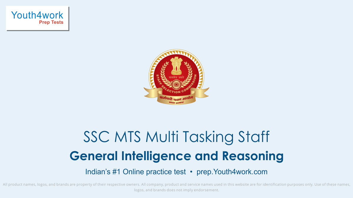 mts reasoning syllabus, ssc mts reasoning questions with answers, ssc mts general intelligence and reasoning questions, reasoning for ssc mts, ssc mts reasoning mock test, ssc mts reasoning practice set, reasoning aptitude for ssc mts, ssc mts exam reasoning preparations