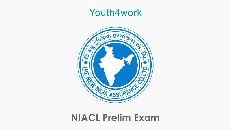 NIACL Prelim Exam