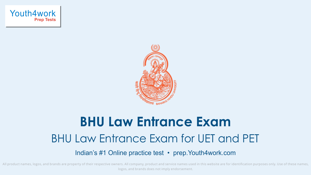 law entrance practice mock series, bhu law practice questions, free law online sample papers, bhu law competitive mcqs, online prep material for law entrance exam, law quantitative math/reasoning skills mock test