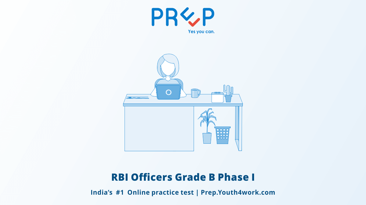 RBI Officers Grade B Phase I
