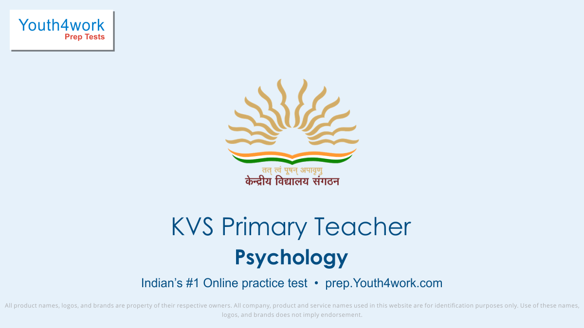 KVS Recruitment, KVS Primary Teacher Mock Paper, Sample Papers, Important Questions, Exam Pattern, KVS Primary Teacher Practice Paper, Solve KVS Test