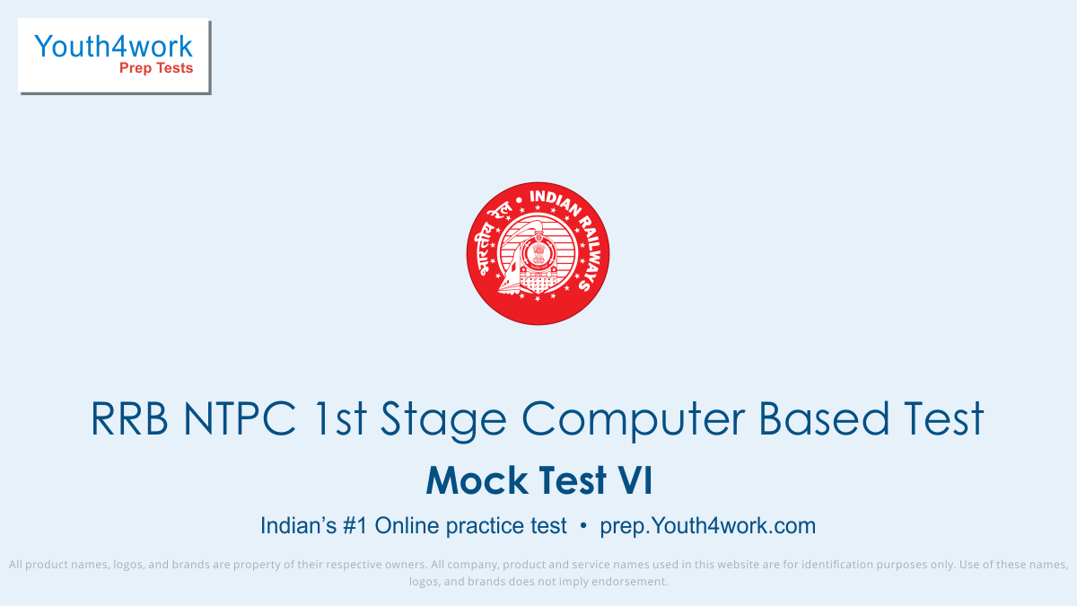RRB NTPC online mock test series, RRB NTPC practice tests, RRB NTPC online preparation, rrb ntpc 1st stage, railway recruitment, rrb recruitment, rrb exam date, indian railway recruitment, rrb ntpc notification, ntpc recruitment, rrb ntpc apply online, rrb ntpc result