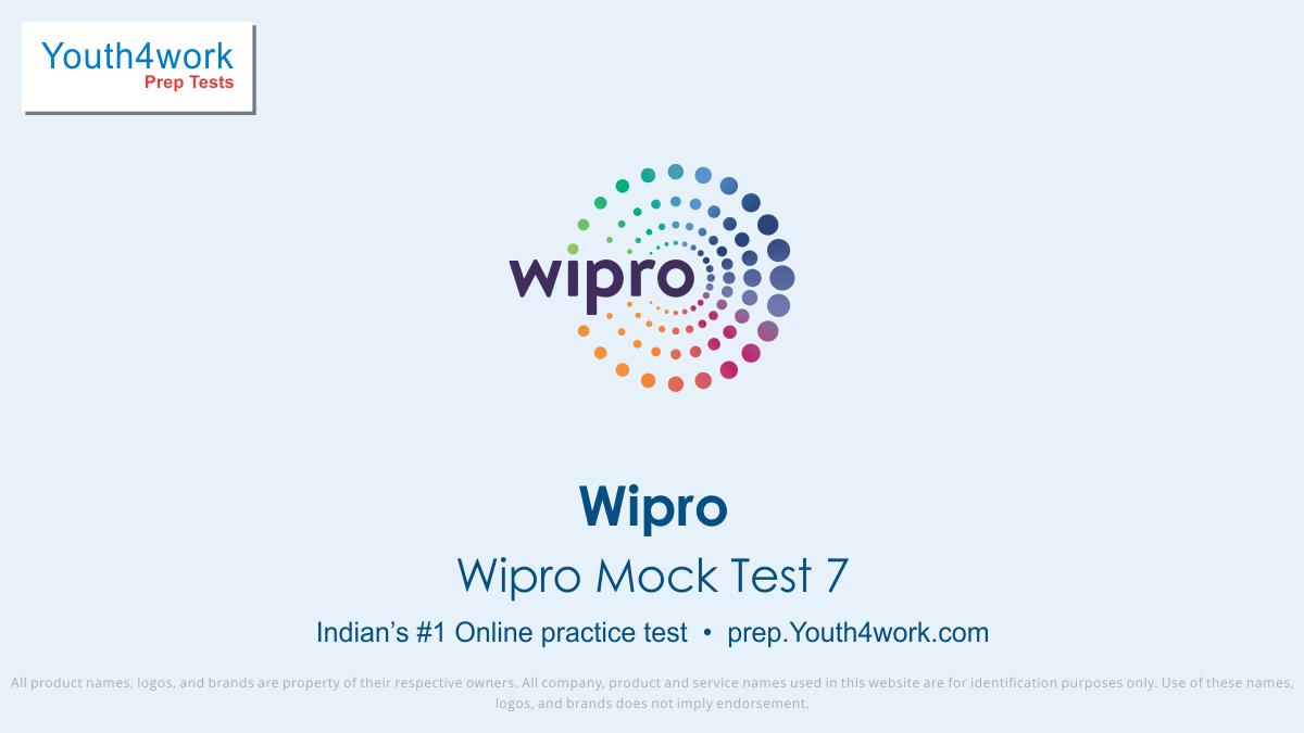 wipro, wipro syllabus, wipro interview process, wipro exam detail, wipro eligibility criteria, Wipro test pattern, Wipro careers, wipro jobs, wipro recruitment, Wipro Noida, Wipro Gurgaon, Wipro aptitude test, Wipro mock test, wipro online test, wipro practice test, wipro