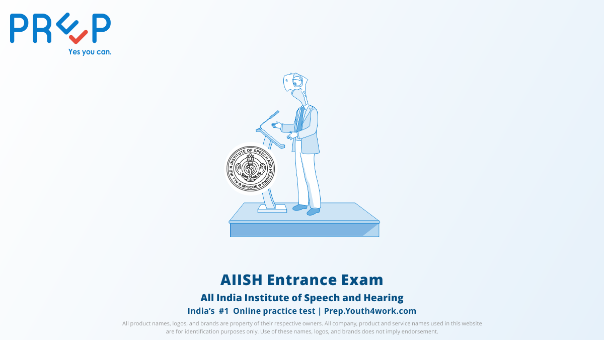 Previous year Question Papers of All India Institute of Speech and