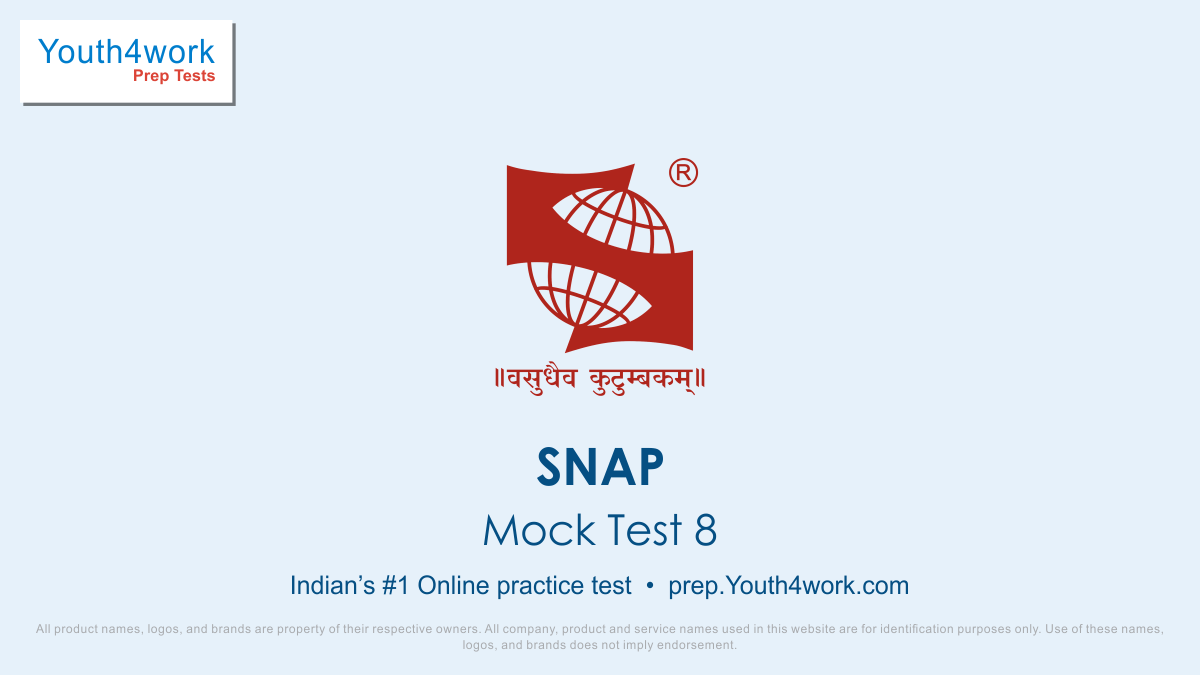 SNAP Mock Test, Exam Pattern, Best SNAP Questions, Solve SNAP Exam, SNAP mock test series, SNAP Exam, SNAP test, SNAP exam pattern, SNAP mock test, SNAP free mock test, SNAP mock test free, SNAP mock, free SNAP mock test