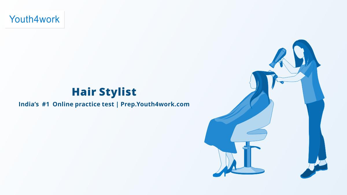 Hair Stylist BWSSC NSDC Online Test Paper