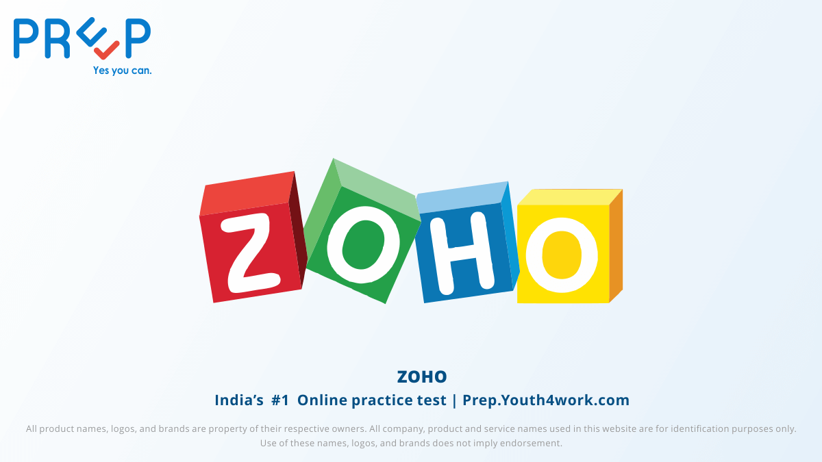 Previous Year Paper of Zoho