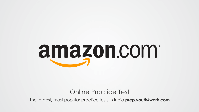 Amazon Placement Papers Online Mock Test Questions