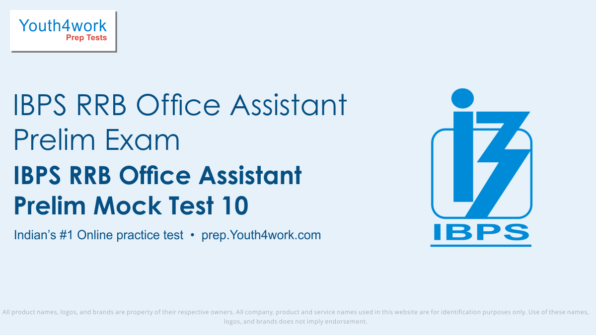 ibps rrb office assistant prelims free mock test series, ibps rrb office assistant prelims online test series, ibps rrb office assistant prelims practice set, ibps rrb office assistant prelims preparation test, online entrance exam test for ibps rrb office assistant prelims, ibps rrb office assistan