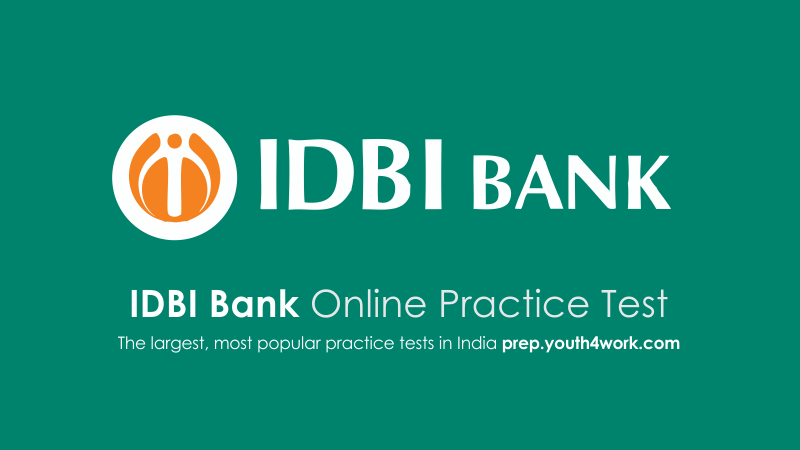 IDBI Bank, Bank Sample Papers, IDBI Bank Placement Papers, Bank Question Topics, Recruitment papers, Bank Interview Questions Answers, Bank Exam Online, IDBI Exam
