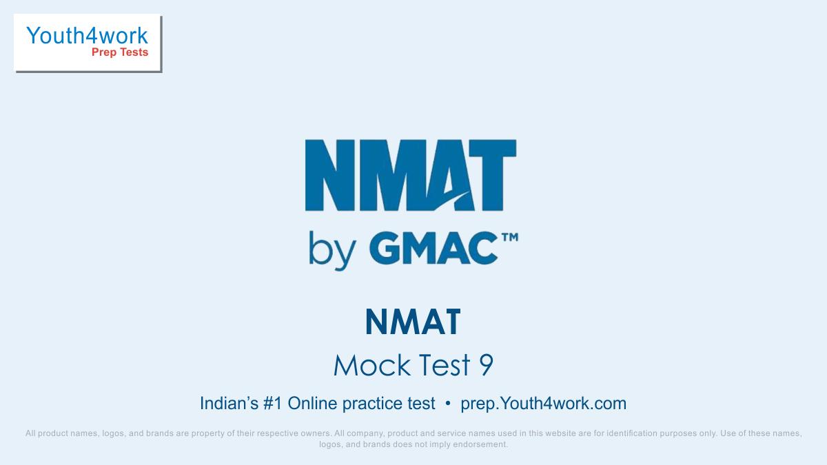 NMAT, online practice, NMAT practice test paper, NMAT mock test, Mock NMAT free, NMAT free mock test, NMAT mocks, NMAT sample paper, NMAT mock test series, NMAT  free tests
