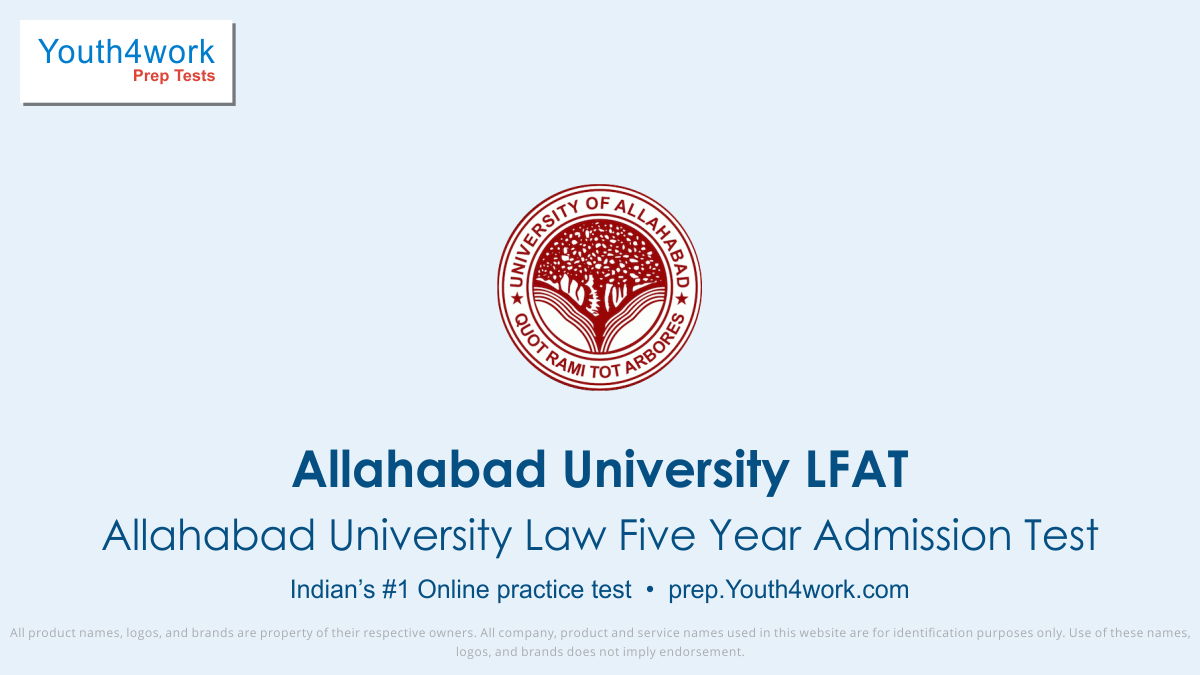 Allahabad University Law Entrance syllabus, llb preparations, Allahabad University LLB, law entrance pattern, law entrance free mock test series, law entrance date, law entrance online preparation, Law Entrance exam, Law mock test, Law aptitude test, LFAT important questions, LFAT answers with solut