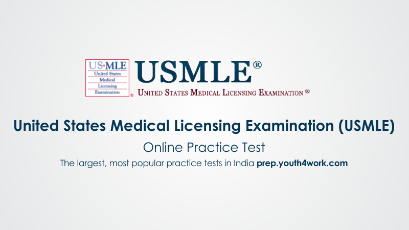 Previous Year Paper of USMLE