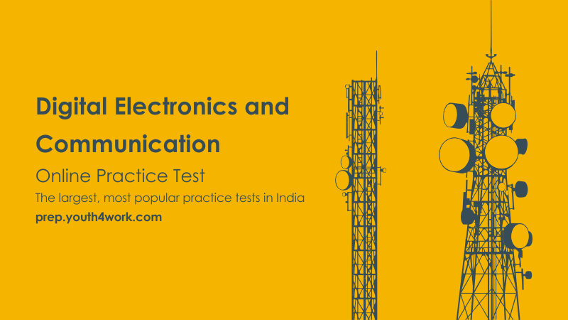 Digital Electronics and Communication Online Mock Test Papers