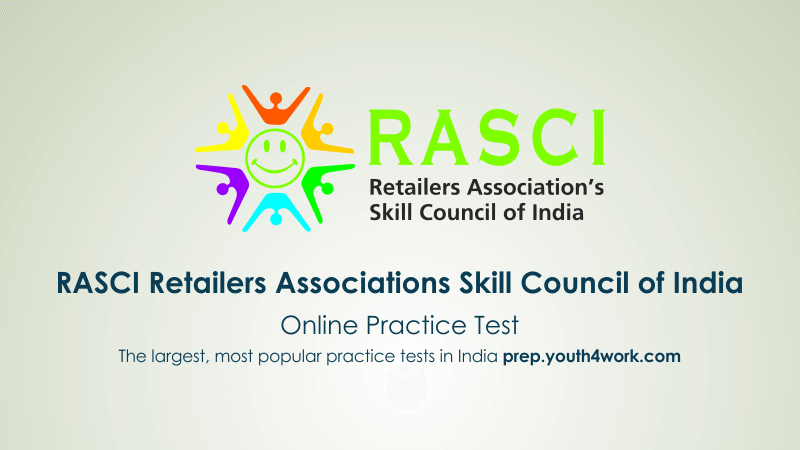 NSDC, National Skill Development Corporation, mock test, practice test, NSDC skill test, NSDC training, try NSDC Sample Papers, pmkvy, RASCI
