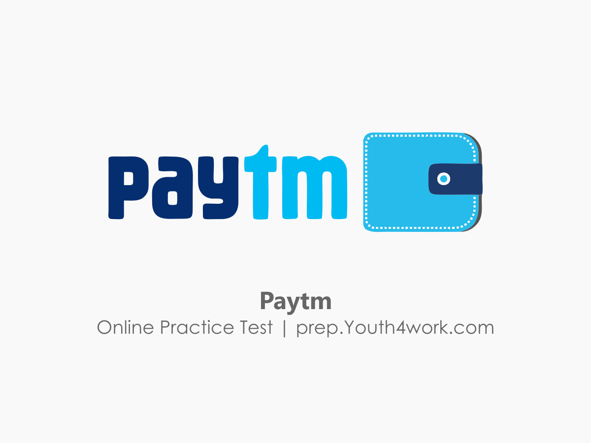 Paytm Placement Online Mock Test Series