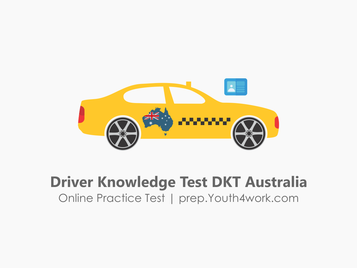 Questions for DRIVER KNOWLEDGE TEST- DKT Austarlia-New South