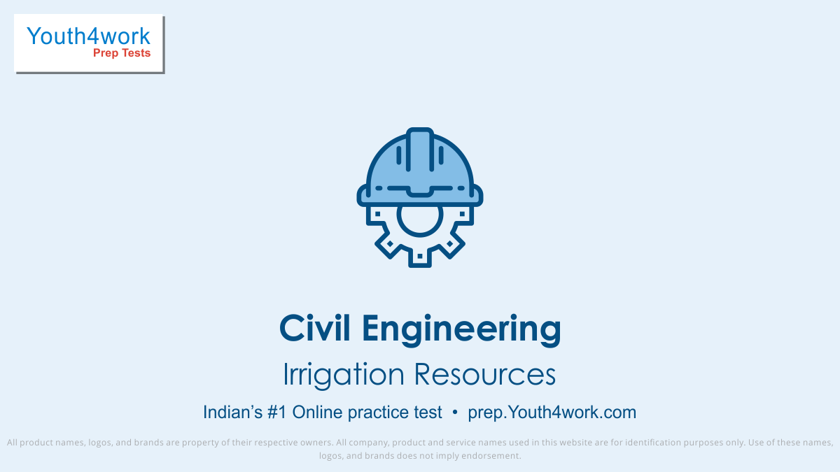 Irrigation Resources important questions, Irrigation Resources practice papers, Irrigation Resources model test papers, free Irrigation Resources mock test, Irrigation Resources online test series, Irrigation Resources notes