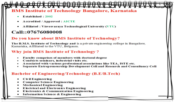 Admission in bms college of engineering
