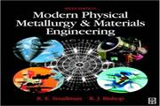 Metallurgical Engineering PHYSICAL METALLURGY