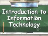 Introduction to Information Technology sample paper by Punjab Technical University