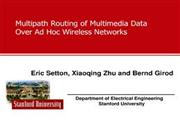 Multipath Routing In AODV For Wireless Ad hoc Networks seminar