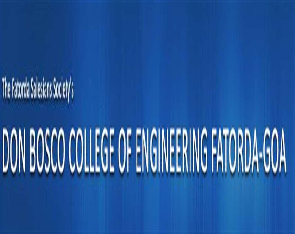 DBCEGOA-Don Bosco College of Engineering