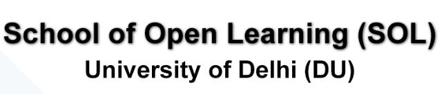 SOL-School of Open Learning