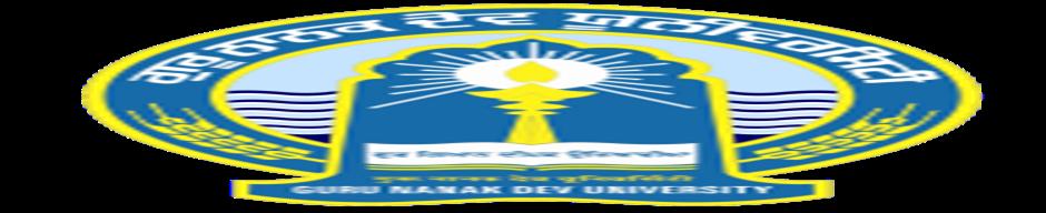 GNDU-Guru Nanak Dev University