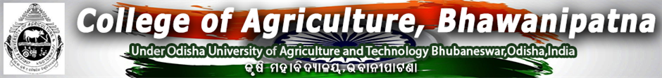 CA-College Of Agriculture Bhawanipatna