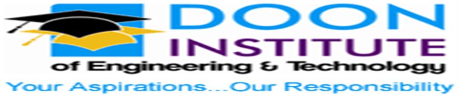 DIET-Doon Institute of Engineering and Technology Rishikesh