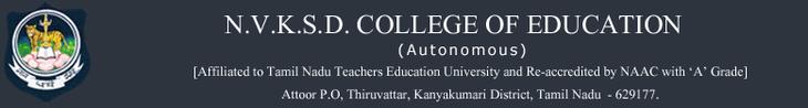 NVKSDCE-N V K S D College of Education