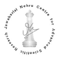 JNCASR-Jawaharlal Nehru Centre for Advanced Scientific Research