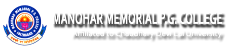 MMPGC-Manohar Memorial PG College