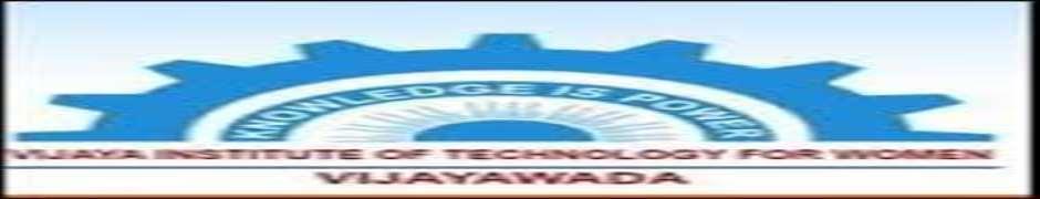 VIMSW-Vijaya Institute of Management Sciences for Women