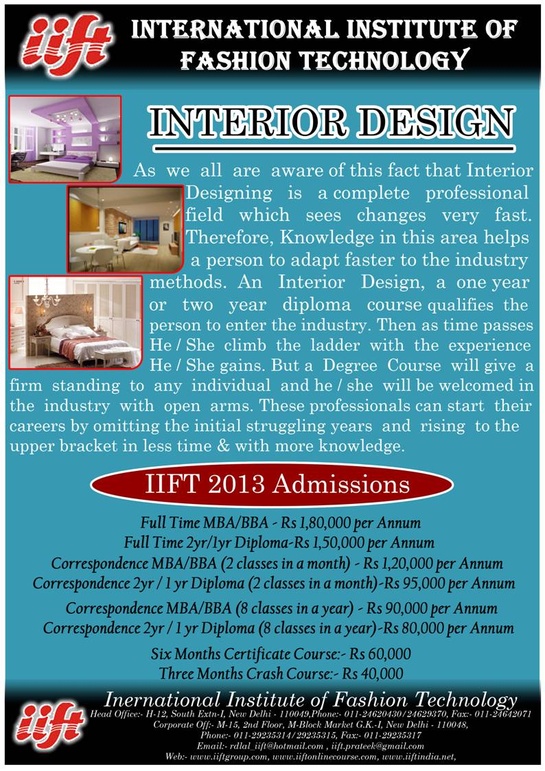 Iift International Institute Of Fashion Technology